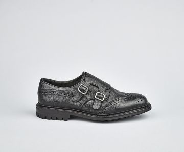 Todd Double Buckle Monk Shoe