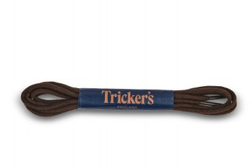 Tricker's Laces Brown Cotton