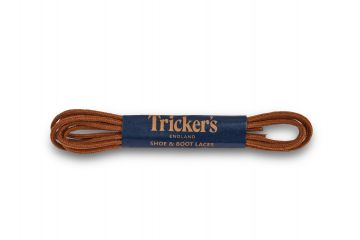Tricker's Laces Tan Cotton