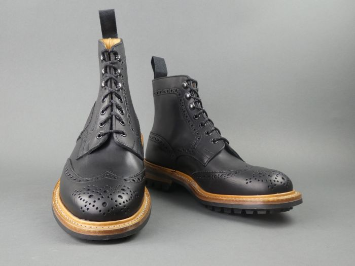 trickers black boots